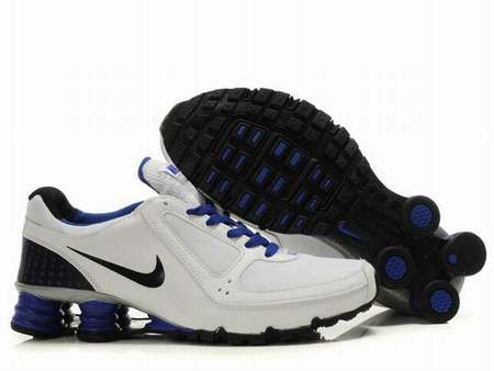 Nike Shox Rivalry Blanc Et Gris